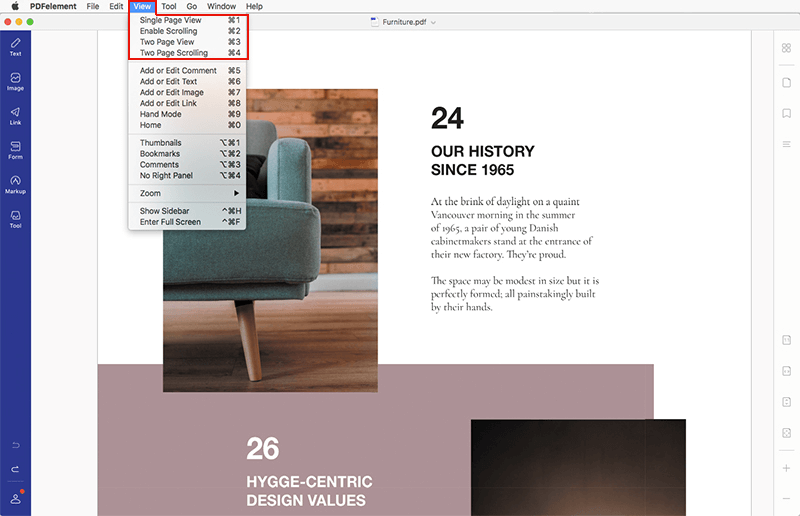 PDFelement Visualizza PDF