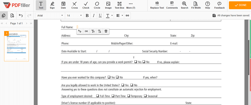 PDFfiller Fill out PDF
