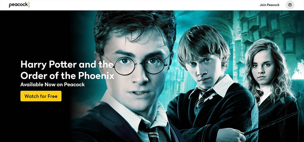 Pfau Harry Potter und der Orden des Phönix