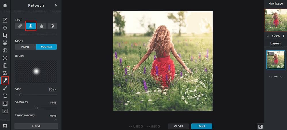 Pixlr Remove Watermark