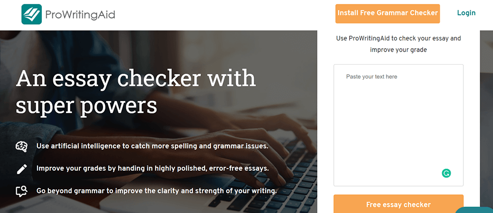 ProWritingAid Grammar Checker