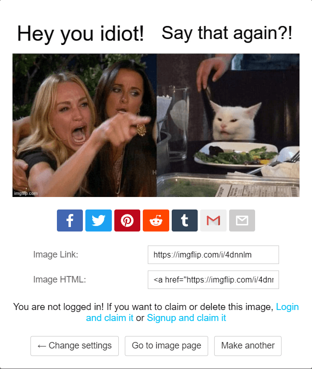 Save Woman Yelling at Cat Meme