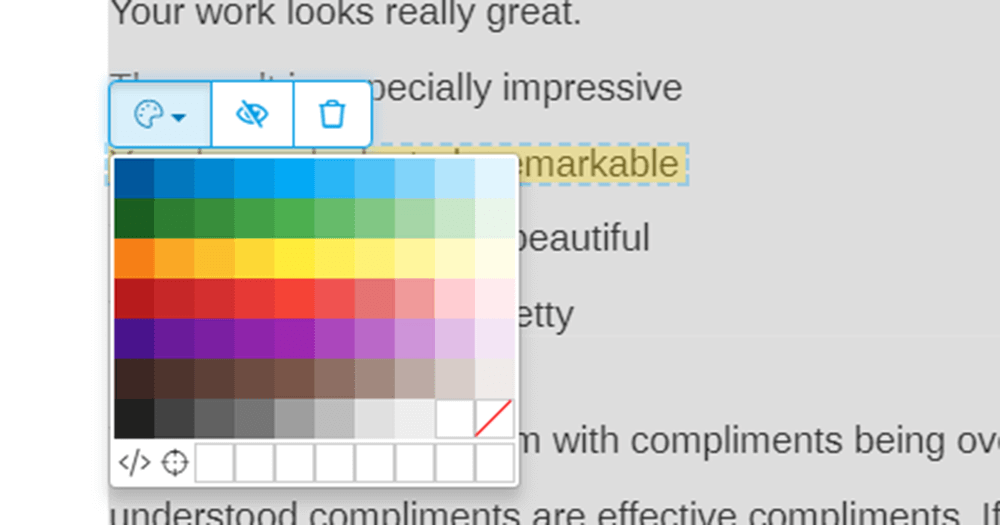 Sejda Highlight PDF color