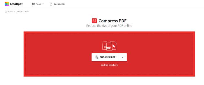 SmallPDF Compress PDF