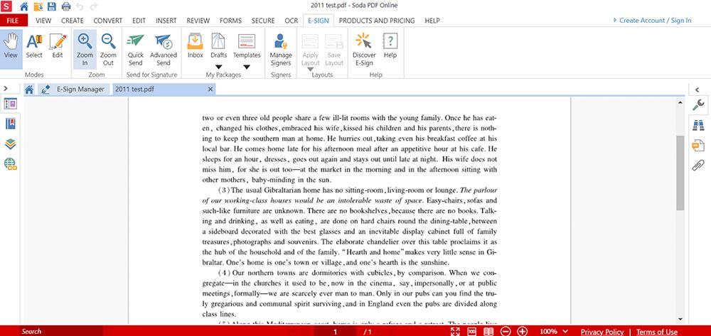 Soda PDF PDF 서명