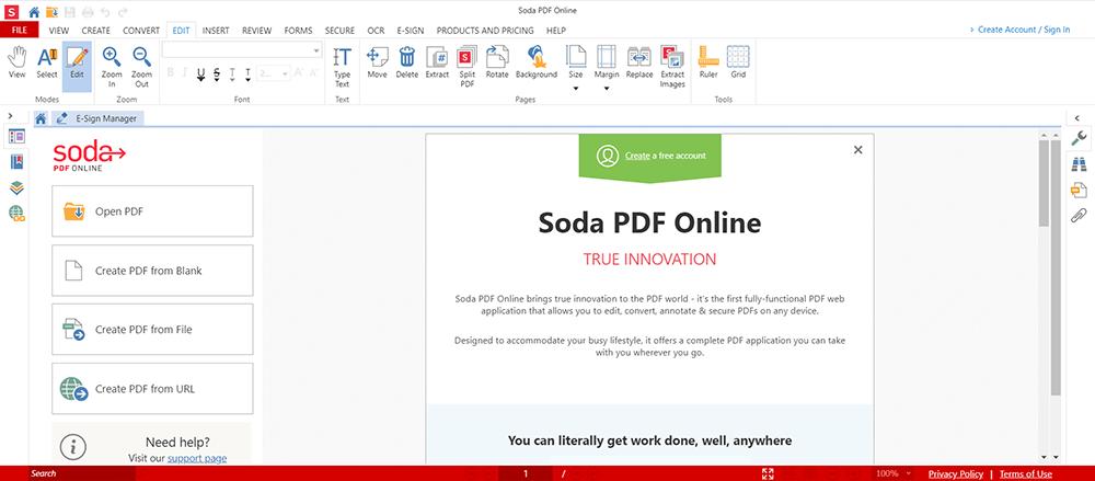 Soda PDF PDF 주석