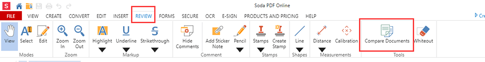 Soda PDF Review Compare Documents