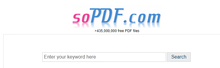 soPDF Search PDF