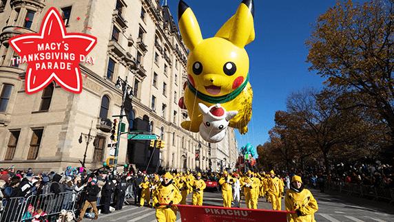 感謝祭のパレード