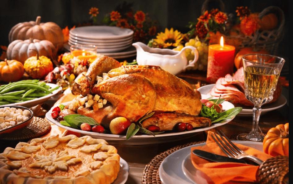 感謝祭の食べ物