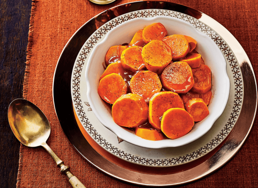 Thanksgiving Side Dishes Candied Yams