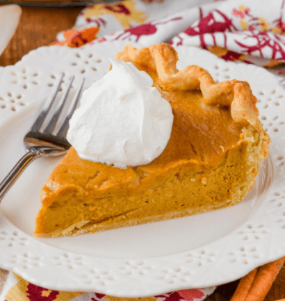 Thanksgiving Side Dishes Pumpkin Pie