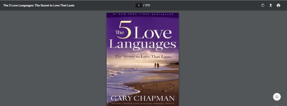 The 5 Love Languages PDF Resource