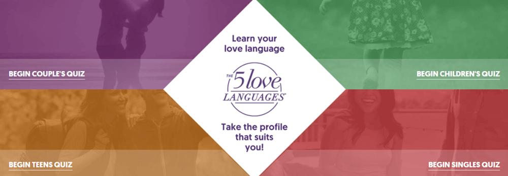 The 5 Love Languages Quiz