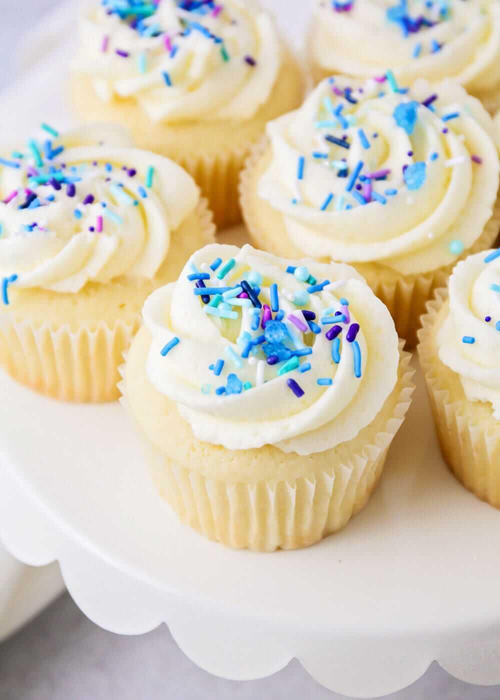 Vanille Cupcakes