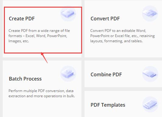 Wondershare PDFelement PDF 생성