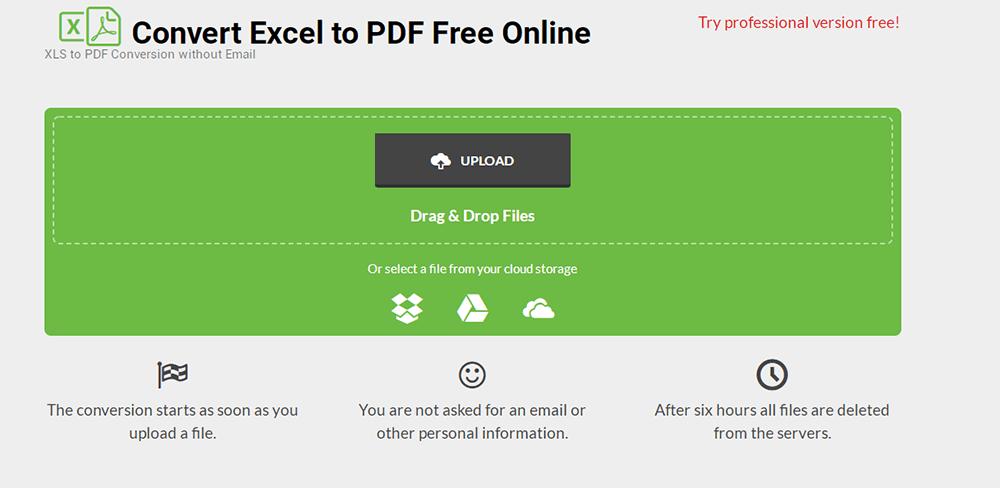 Xlstopdf Excel a PDF