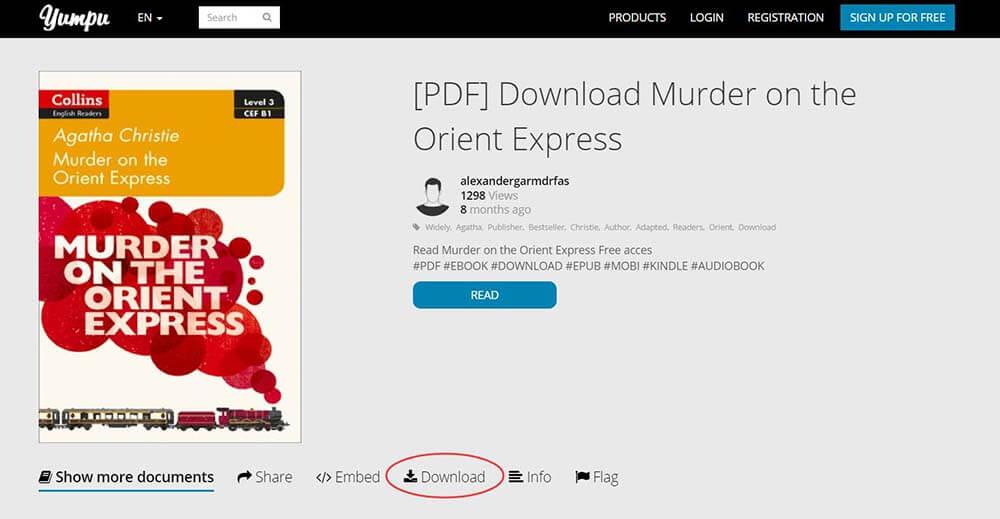 Yumpu-Mord im Orient Express