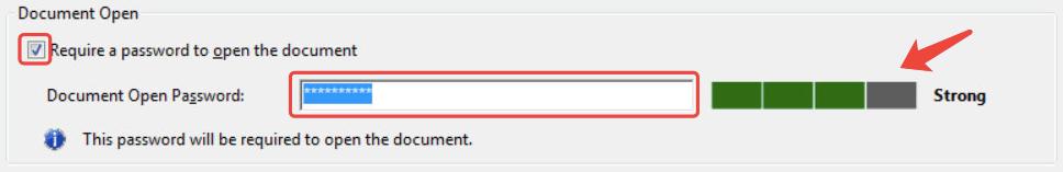 Adobe Acrobat Encrypt Document