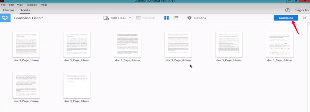 Adobe Acrobat Pro Create PDF Combine
