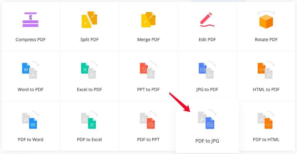 PDF in JPG konvertieren