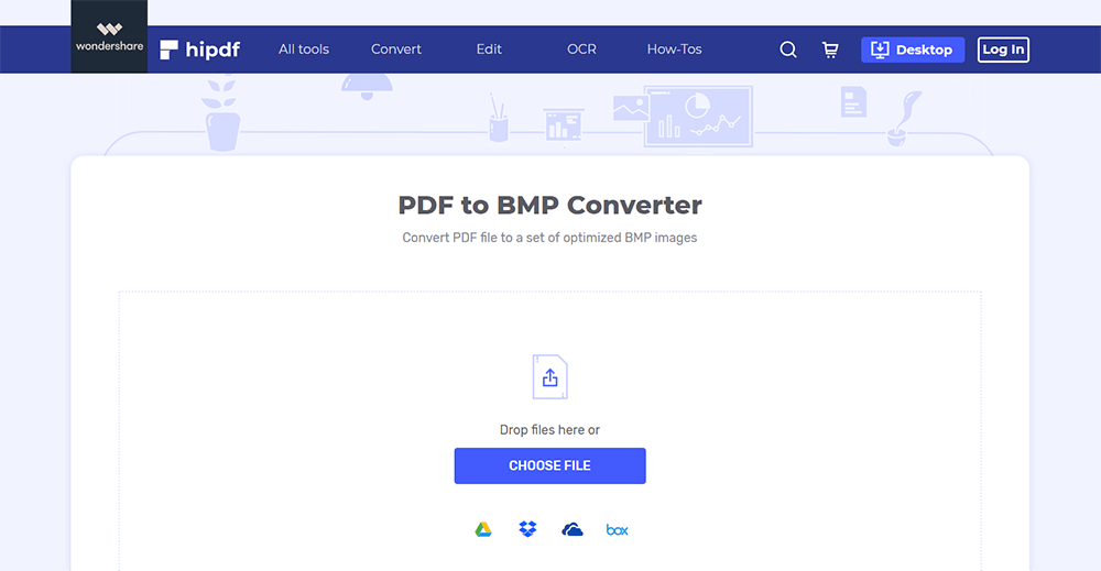 Hipdf PDF to BMP
