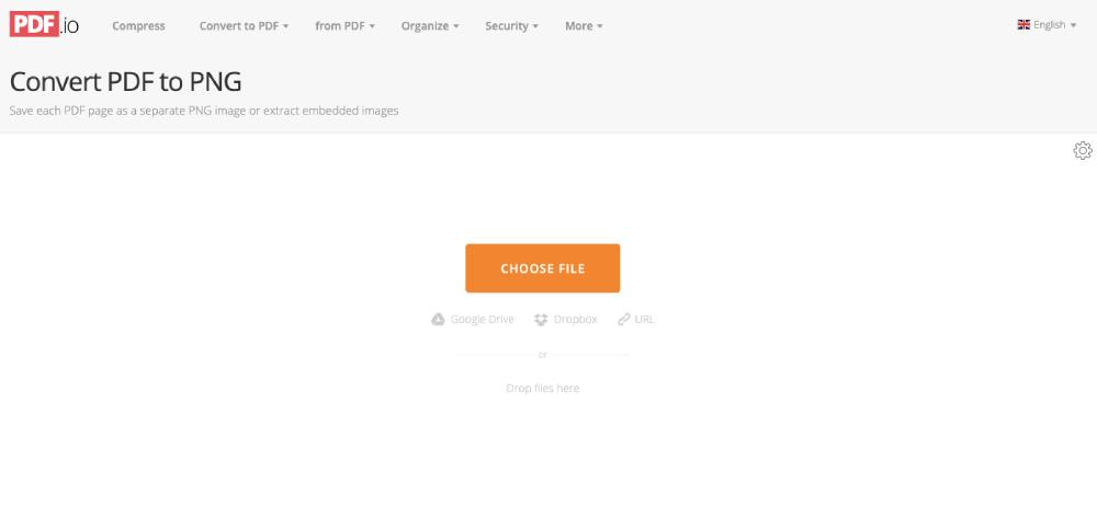 PDF to PNG Choose File