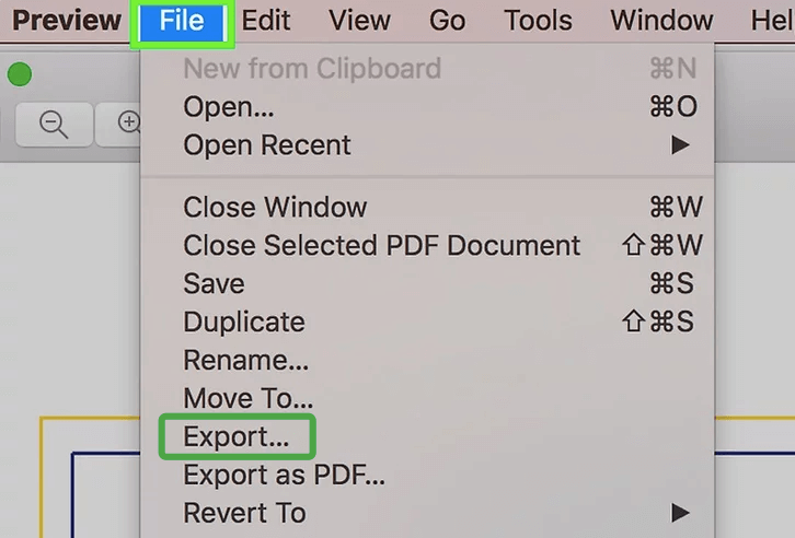 Mac Preview Export