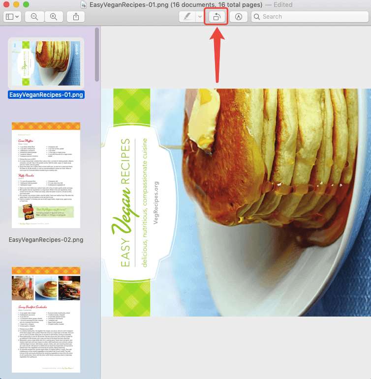 PNG to PDF Mac Preview Orientation