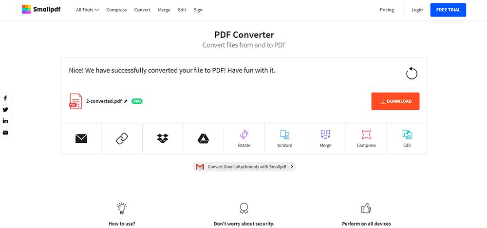 Smallpdf Download Files
